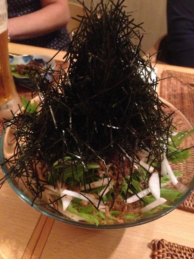 京菜のサラダ (コピー)